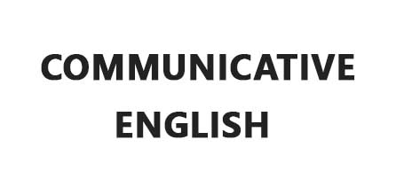 picture mentioning Communicative English
